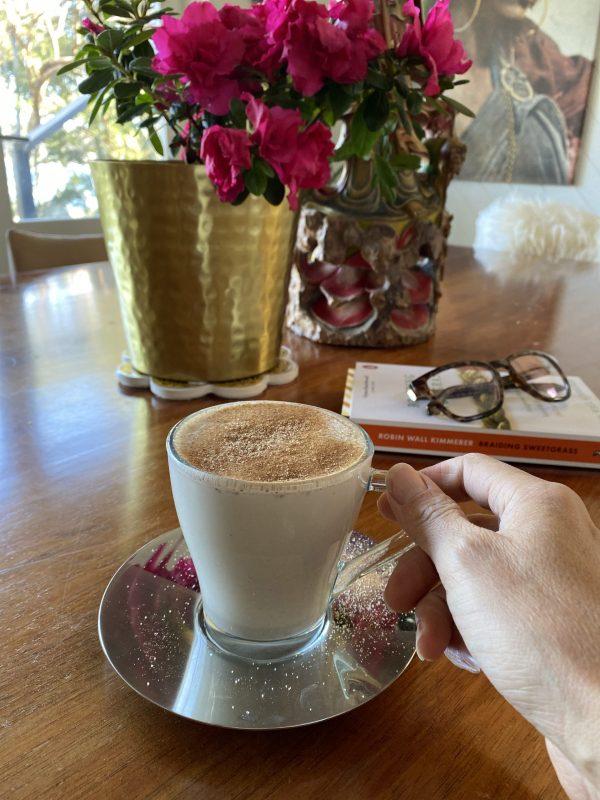 Stress-busting Ashwagandha latte