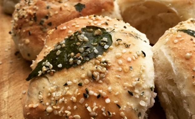 nettle and hemp rolls