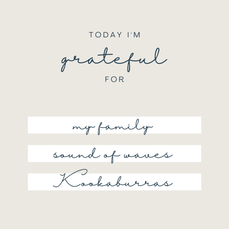gratitude list to relieve anxiety